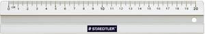 STAEDTLER Lineal 20 cm aus Aluminium