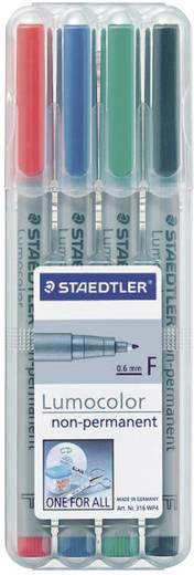 Staedtler Universalstift Lumocolor, F, 4er-Set