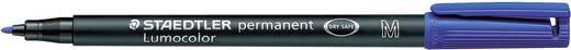 Permanent-Marker Lumocolor Staedtler 317-3 Blau Rundform 1 mm (max) 1 St.