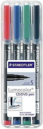 Staedtler Lumocolor CD/DVD-Stift, 4er-Set 4 St.