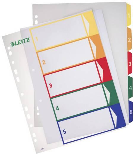 Leitz PC-beschriftbares Register 1-5