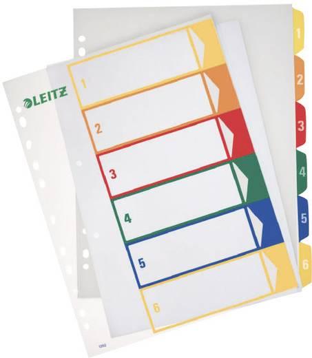 Leitz PC-beschriftbares Register 1-6