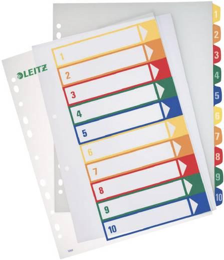 Leitz PC-beschriftbares Register 1-10