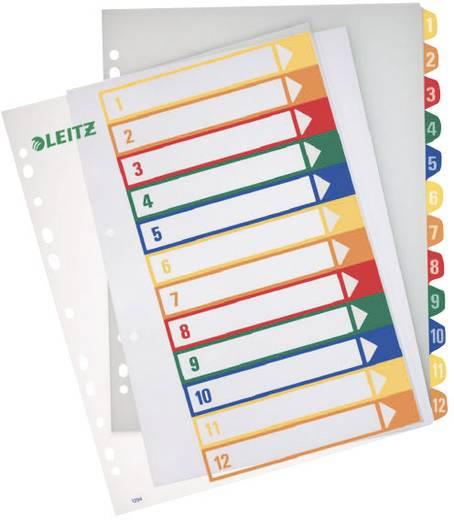Register Leitz 12940000 DIN A4 Überbreite numerisch Gelb, Orange, Rot, Grün, Blau 1 Bogen