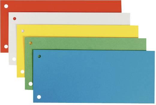 Leitz Trennstreifen farbig 25er