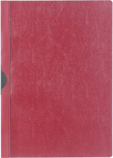 Klemm-Mappe mit Metallclip, rot