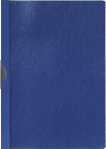 Klemm-Mappe mit Metallclip, blau