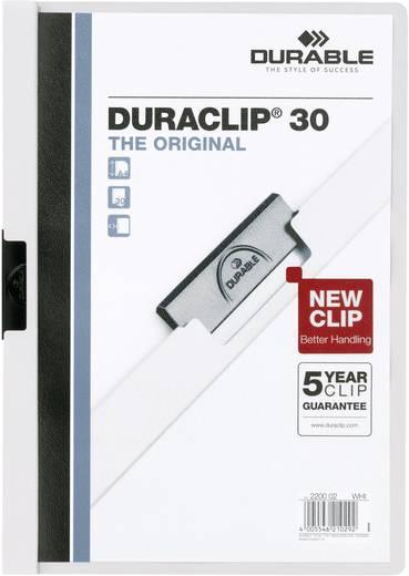 Klemm-Mappe Duraclip 30, weiß