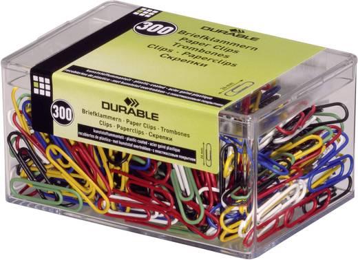 Durable Farbige Briefklammern farbig kunststoffummantelt 300er