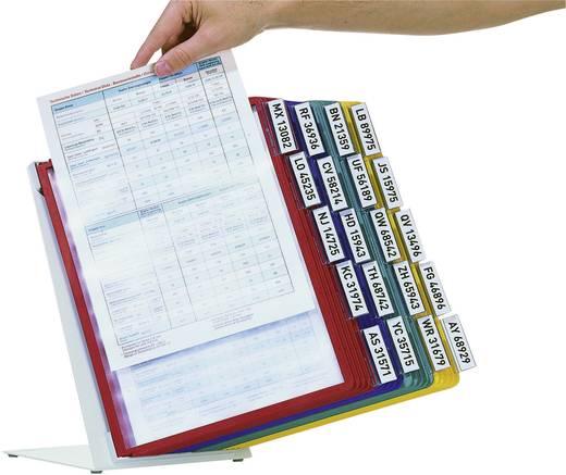 Durable Tischständer mit 20 Sichttafeln, 5699-00