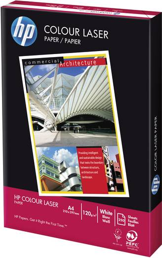 Laser Druckerpapier HP CHP340 CG964A DIN A4 120 g/m² 250 Blatt Weiß