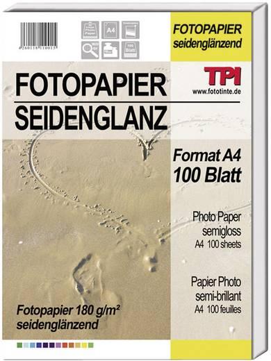 Fotopapier TPI 110015 110015 DIN A4 180 g/m² 100 Blatt Seidenglänzend
