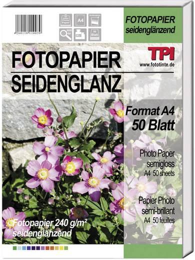 Fotopapier TPI 110039 110039 DIN A4 240 g/m² 50 Blatt Seidenglänzend