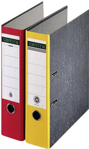 Centra Ordner DIN A4 Rückenbreite: 80 mm Rot Wolkenmarmor 2 Bügel 220123