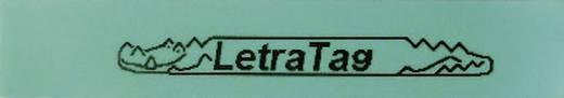 Schriftband DYMO 91224 Bandfarbe: Grün Schriftfarbe:Schwarz 12 mm 4 m