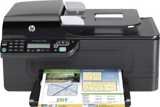 hp officejet 2620 aio tintenstrahl multifunktionsdrucker drucker scanner kopierer fax lan. Black Bedroom Furniture Sets. Home Design Ideas