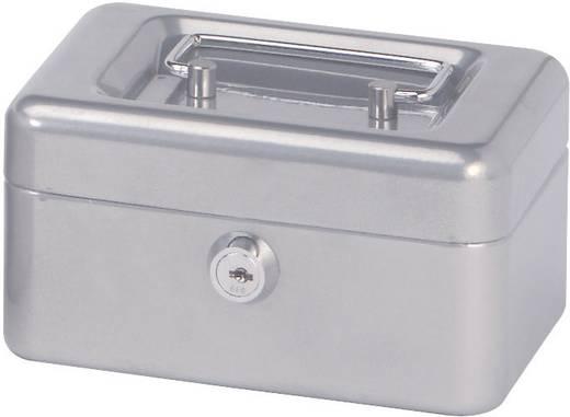 Geldkassette Maul 18280 (B x H x T) 152 x 81 x 125 mm Silber