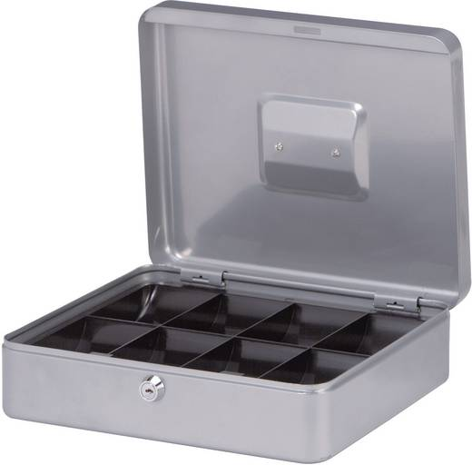 Geldkassette Maul 18540 (B x H x T) 300 x 90 x 245 mm Silber