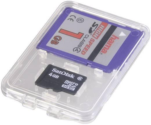 Speicherkarten-Hülle Hama 95947 microSD-Karte, SD-Karte Transparent