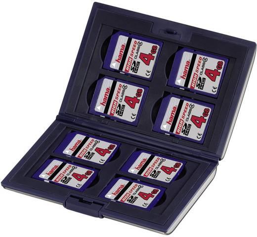 Speicherkarten-Hülle Hama 00095973 SDHC-Karte, SD-Karte, SDXC-Karte Schwarz