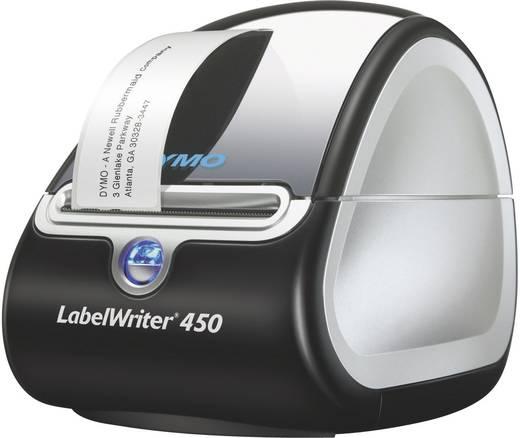 DYMO LabelWriter™ 450 Aktions-Pack mit 3 LW-Etikettenrollen Etiketten-Drucker Thermodirekt 300 x 600 dpi Etikettenbreite (max.): 56 mm