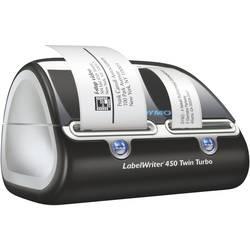 Tlačiareň štítkov termálna s priamou tlačou DYMO LabelWriter 450 Twin Turbo, Šírka etikety (max.): 56 mm, USB