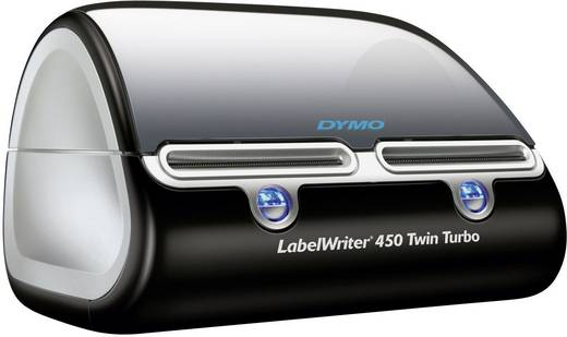DYMO LabelWriter 450 Twin Turbo Etiketten-Drucker Thermodirekt 300 x 600 dpi Etikettenbreite (max.): 56 mm USB