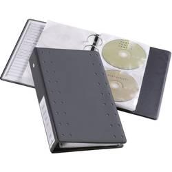 Obaly na CD/DVD Durable 520458 na 20 CD/DVD, antracitová