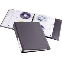 CD/DVD obaly Durable 522758 na 40 CD/DVD, antracitová