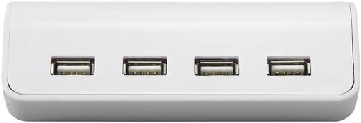 USB-Design-Uhr und Kalender mit 4er-Hub