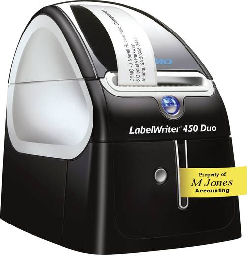 DYMO LabelWriter 450 Duo Etiketten-Drucker Thermodirekt 300 x 600 dpi Etikettenbreite (max.): 56 mm USB