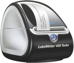 Image of DYMO LabelWriter 450 Turbo Etiketten-Drucker Thermodirekt 300 x 600 dpi Etikettenbreite (max.): 56 mm USB