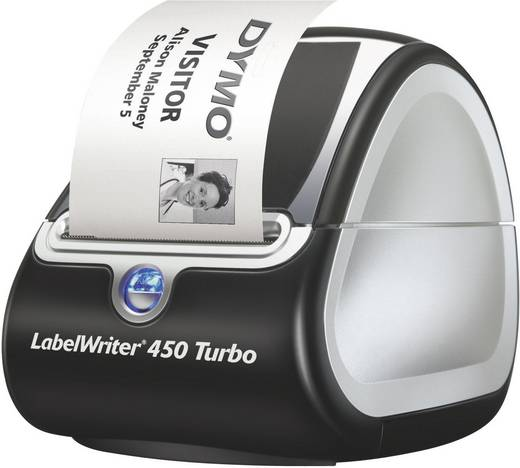 DYMO LabelWriter 450 Turbo Etiketten-Drucker Thermodirekt 300 x 600 dpi Etikettenbreite (max.): 56 mm USB