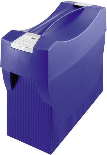 Hängemappenbox Swing mit Deckel, blau