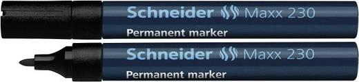 Permanent-Marker Schneider 230 Schwarz Rundform 1 - 3 mm 1 St.