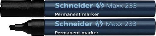 Permanent-Marker Schneider 233 Schwarz Keilform 1 - 5 mm 1 St.