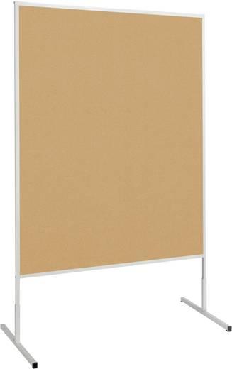Maul Moderationstafel Maulstandard (B x H) 120 cm x 150 cm Braun Inkl. Rollen, beidseitig verwendbar, Pinntafel 6363582