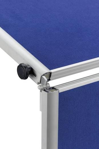 Maul Moderationstafel Pro klappbar Textilfaser Grau 6381382