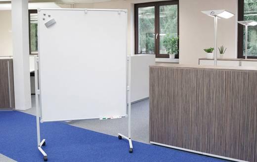Maul Moderationstafel Pro Textilfaser, Weiß lackiert Weiß, Blau 6380482