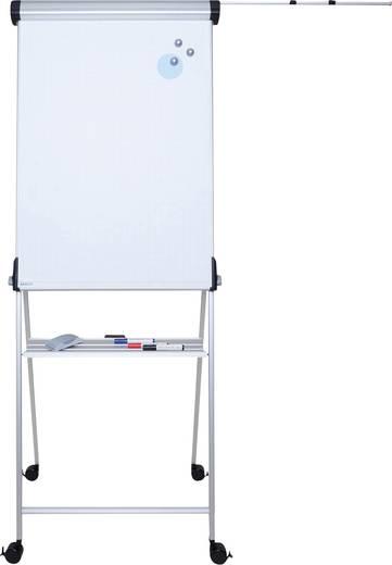 MAUL Mobiles Flipchart MAULpro 69 x 96 cm, höhenverstellbar, magnethaftend, silber 6377095