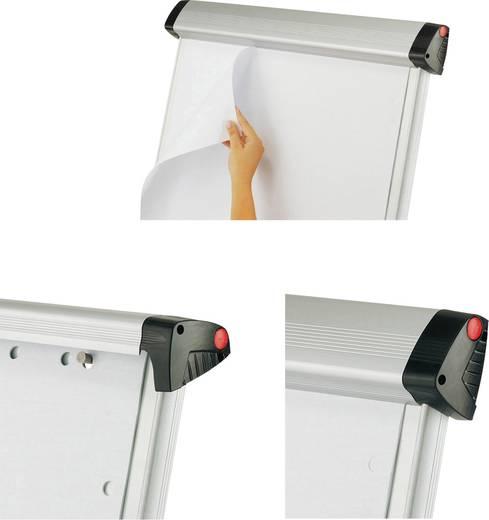 Maul Mobiles Flipchart MAULpro (B x H) 69 cm x 96 cm Silber Inkl. Ablageschale, Inkl. Papierhalterhalter, Inkl. Blockhal