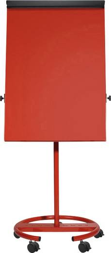Flipchart Office Rundfuß, rot