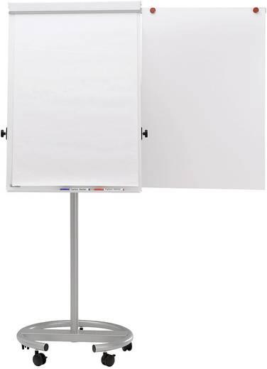MAUL Flipchart Office Rundfuß, 5 feststellbare Laufrollen, grau, 6375095