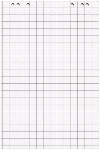 Maul Flipchart-Block 5er Set 67,5 x 98 cm kariert 6387802