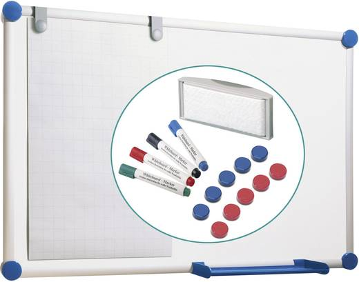 Maul Whiteboard 2000 Komplettset 90 x 120 cm 6309584