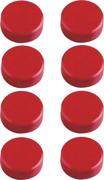 Haftmagnete rund 11mm in schwarz rot blau grün gelb weiß