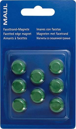 Maul Facetterand-Magnet 8 St. Grün (Ø x H) 15 mm x 7 mm 6175255