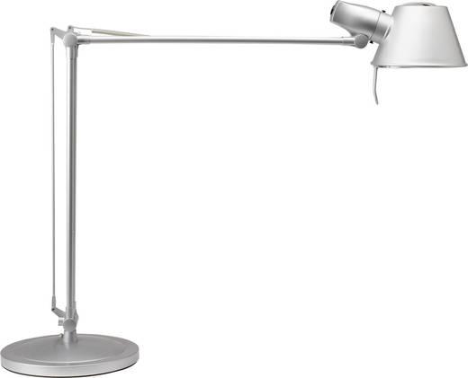Schreibtischleuchte Energiesparlampe E27 15 W Maul Rock Silber