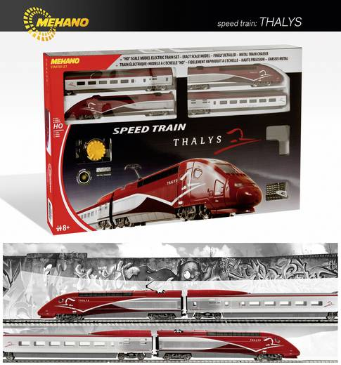 Mehano 58581 H0 Start-Set Schnelltriebzug Thalys