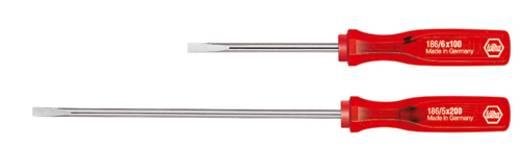 Elektriker Schlitz-Schraubendreher Wiha Classic 186 Klingenbreite: 5 mm Klingenlänge: 150 mm